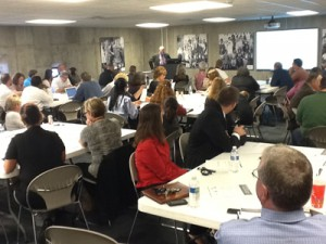 Photo from the 2012 Social Media: The Records Management Challenge Workshops